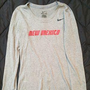 Nike Grey New Mexico Long Sleeve